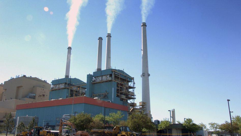 Kohlekraftwerk im US-Bundesstaat Montana (im Juli 2013)