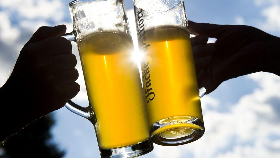 Biergläser (Symbolbild)