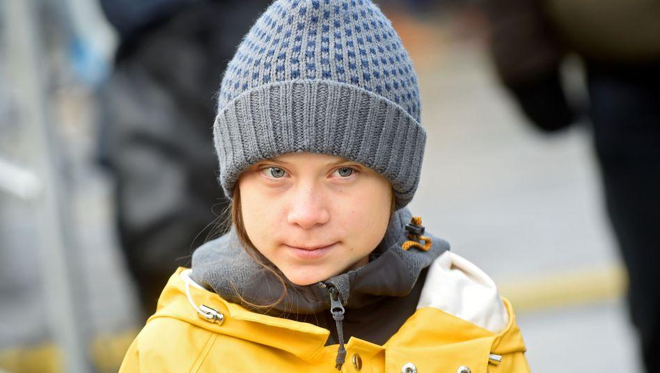 Aktivistin Greta Thunberg (am 13. Dezember in Turin): Ein weltberühmter Teenager