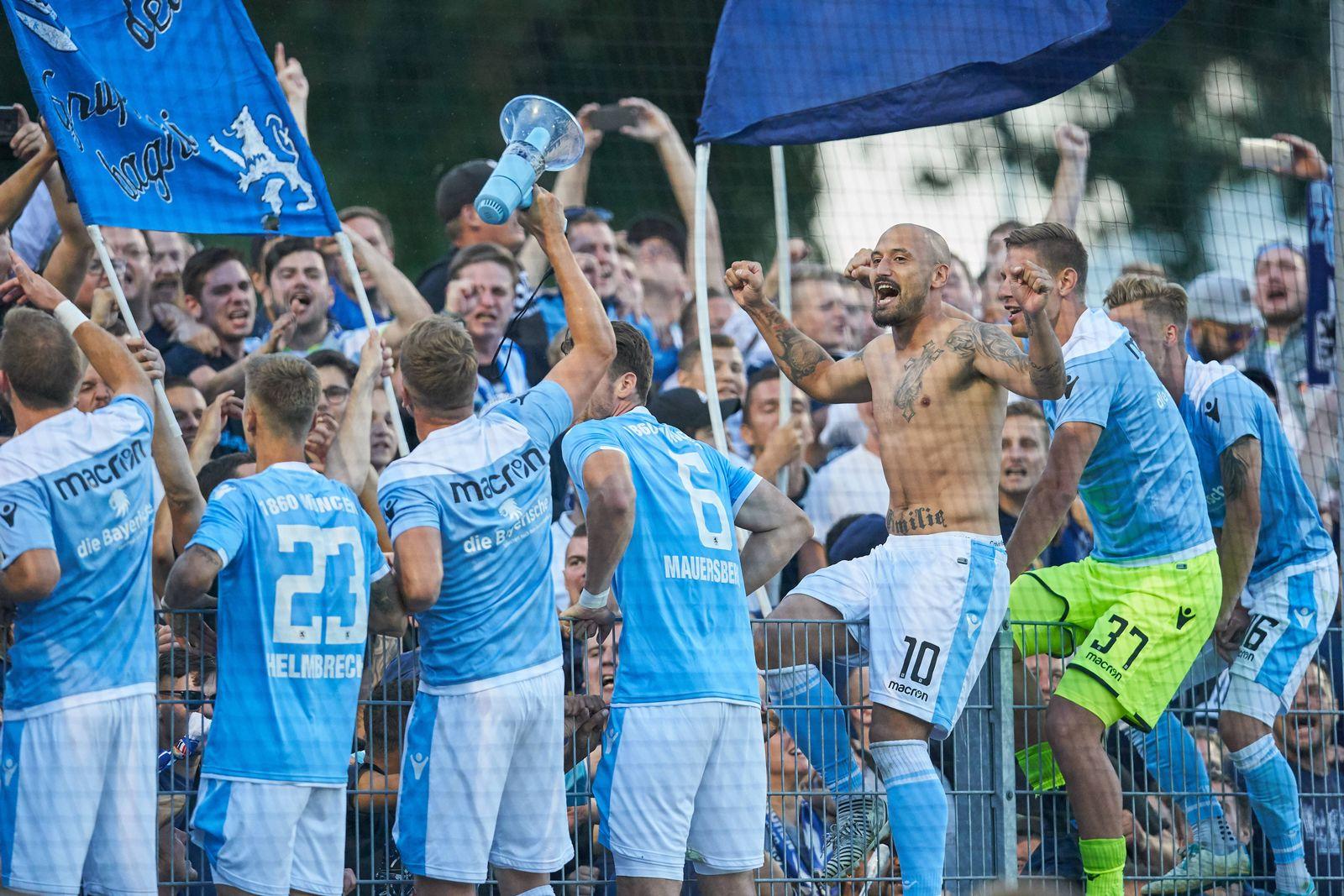 EINMALIGE VERWENDUNG C Memmingen - TSV 1860 München