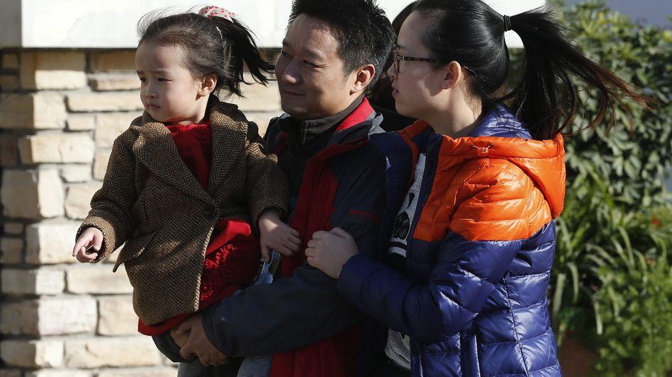 Chinesische Familie (Symbolbild)
