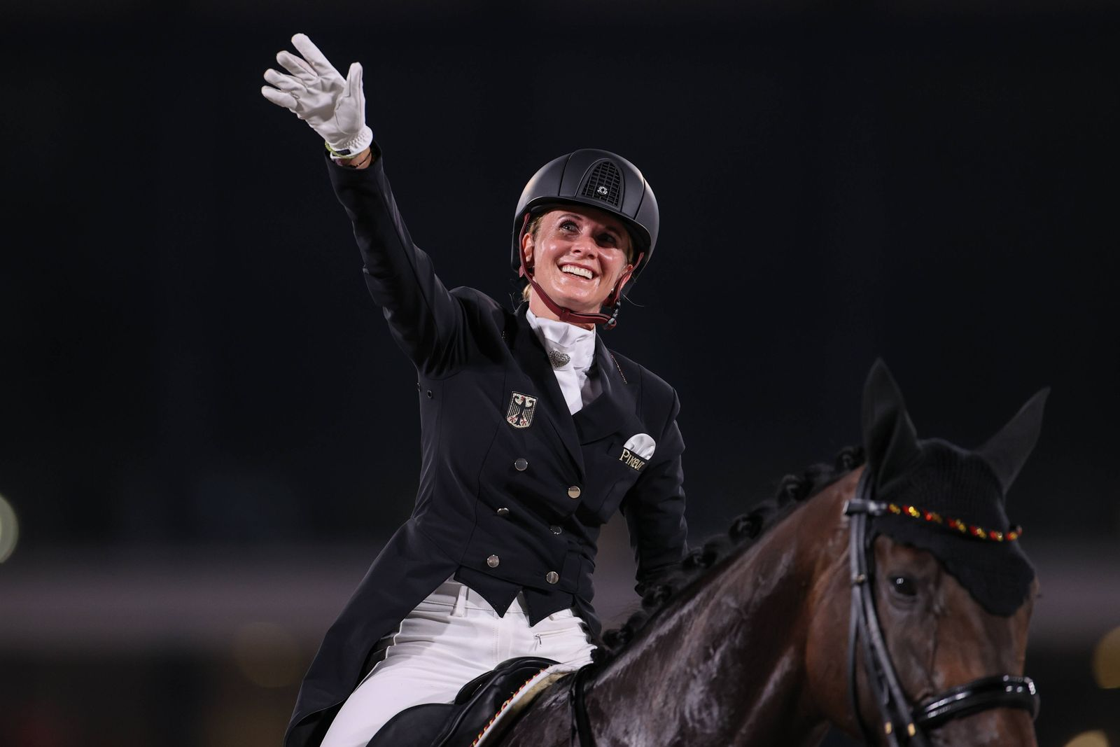 BREDOW-WERNDL Jessica (GER), JULY 27, 2021 - Equestrian : Dressage Team Final, during the Tokyo 2020 Olympic Games, Olym