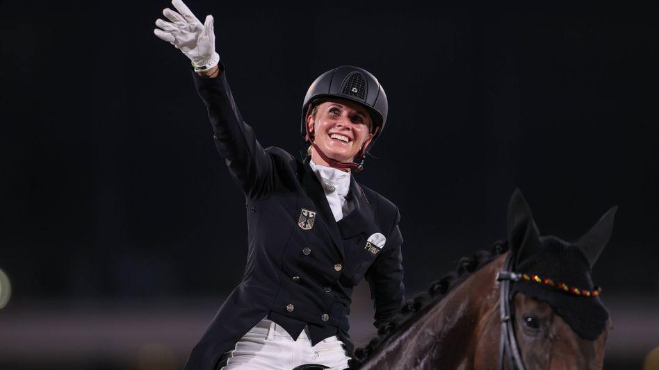 Olympiasiegerin Jessica von Bredow-Werndl