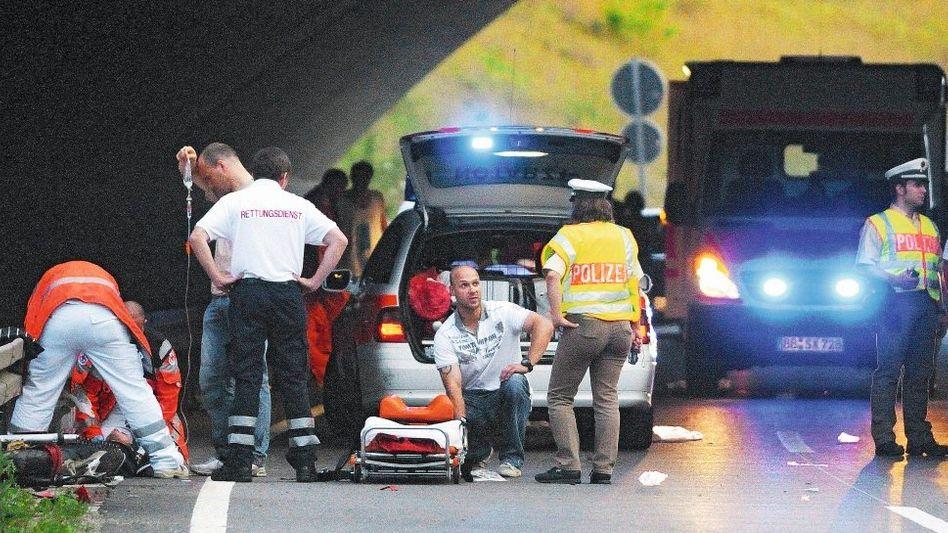 Versorgung von Unfallopfern