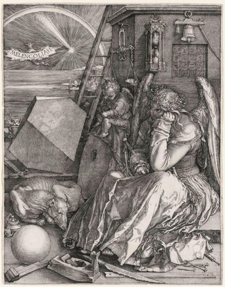 "Albrecht Dürers Meisterwerk ""Melencolia 1"""