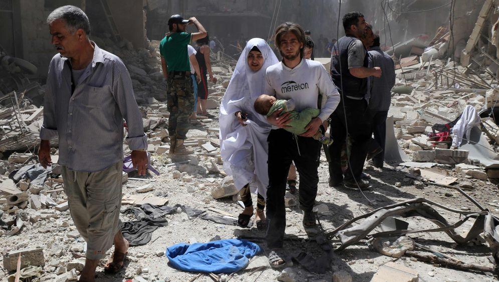 Fotostrecke: Leben und Sterben in Aleppo