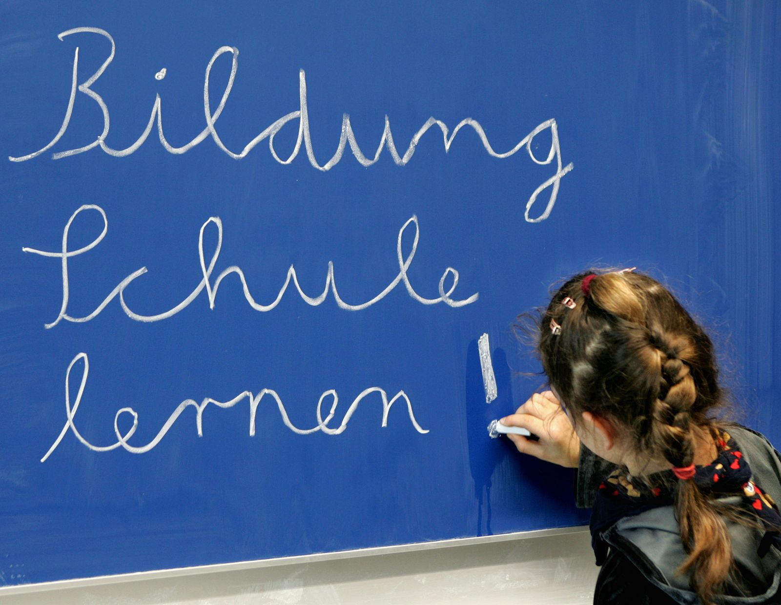 Tafel/ Bildung/ Grundschule