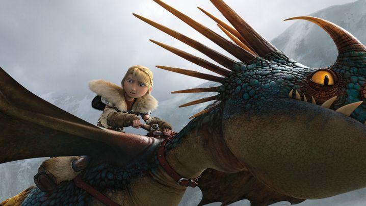 Animationsfilm: Drachen machen Sachen