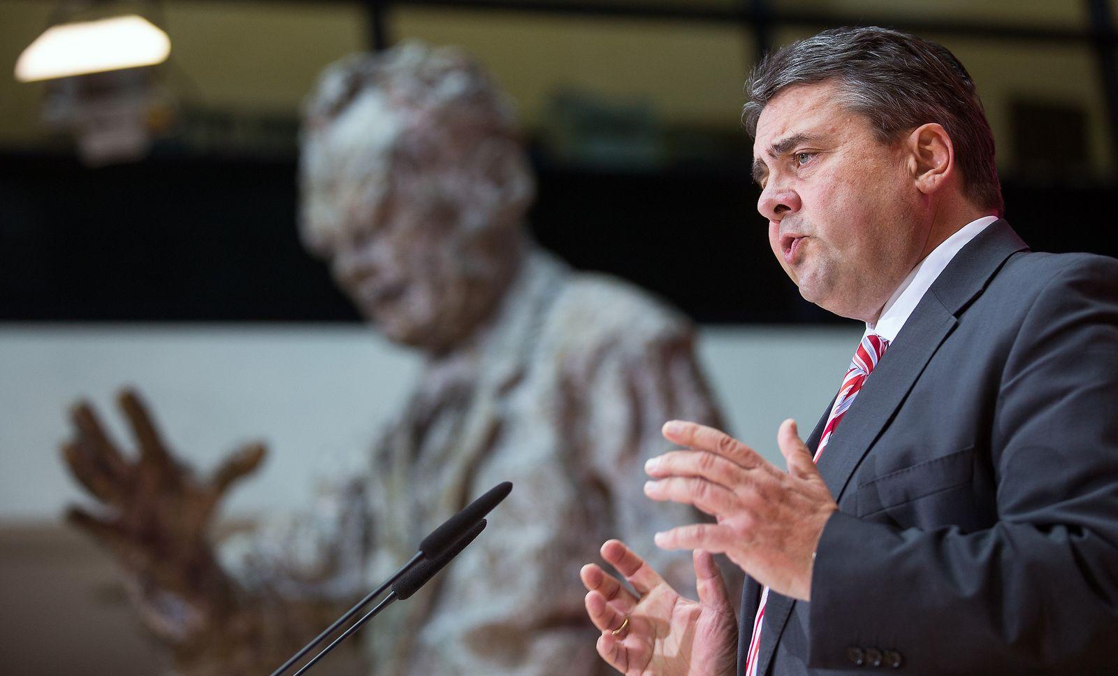 SPD-Parteikonvent/ Sigmar Gabriel