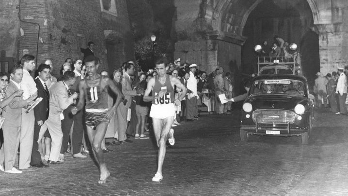 Abebe Bikila - der Olympiasieger und die Barfußläufer