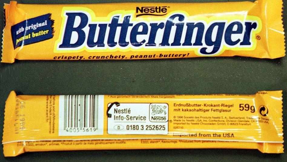 Schokoriegel: Laut Nestlé handelt es sich um Produkte für den US-Markt
