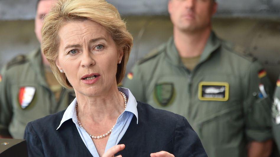 Ursula von der Leyen (CDU), Bundesverteidigungsministerin