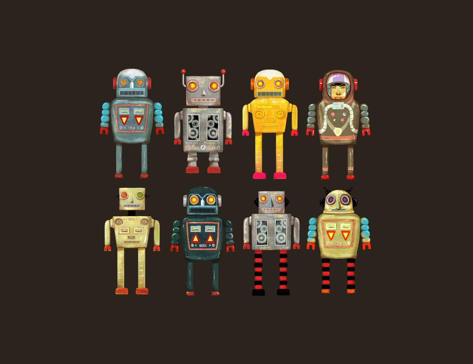 EINMALIGE VERWENDUNG Roboter