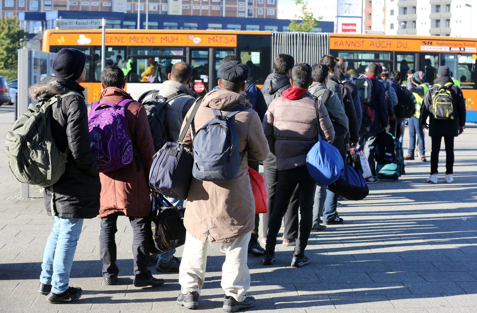 flüchtlinge rostock