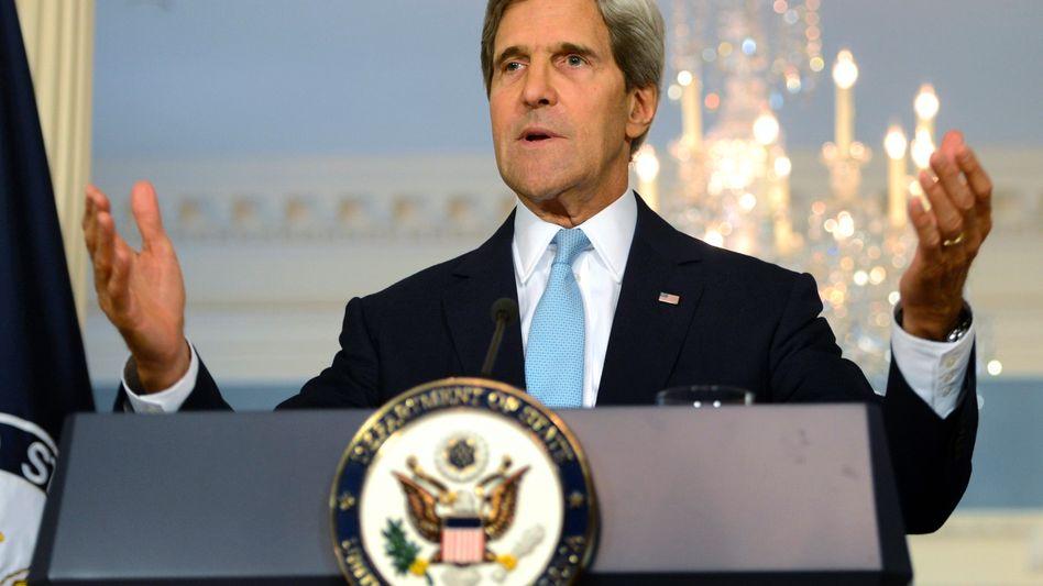 """Syrien-Intervention: Kerry legt """"Beweise"""" für Chemiewaffeneinsatz Assads vor"""