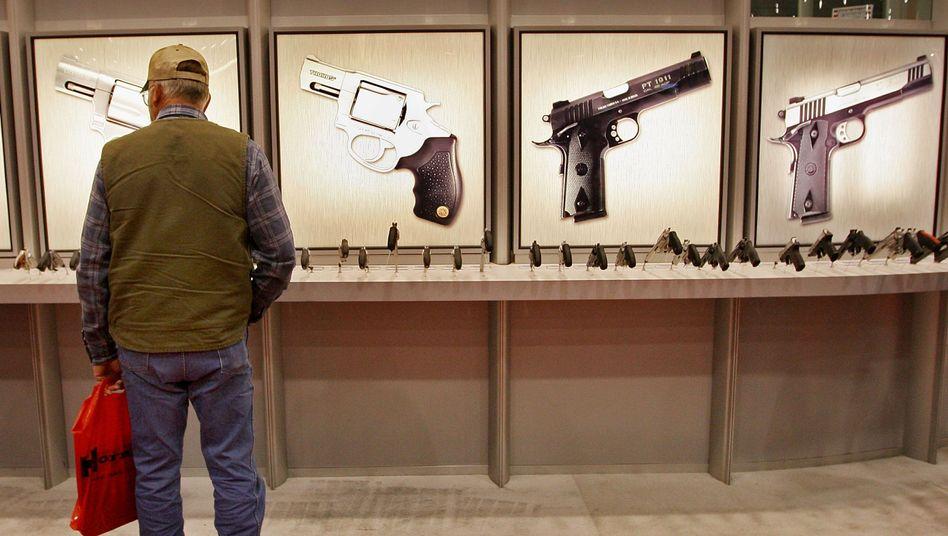 Waffenmesse in Kentucky (Archivbild): Über 250 Millionen Schusswaffen in privater US-Hand