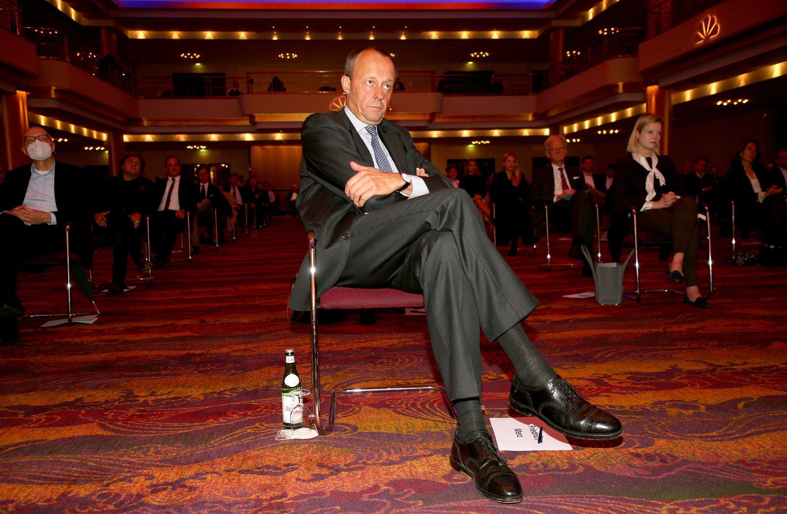 Politischer Abend mit Friedrich Merz und Dr. Christoph Ploß am 22.10.2020 Hotel Grand Elysee: Friedrich Merz