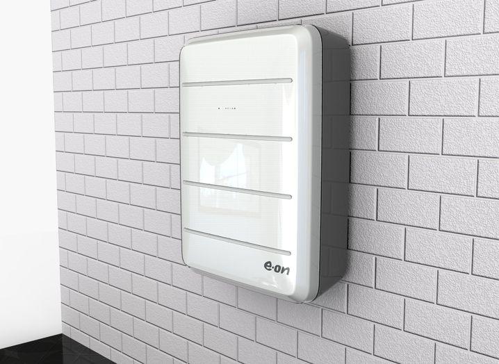 Mit Solarwatt entwickelter E.on-Stromspeicher