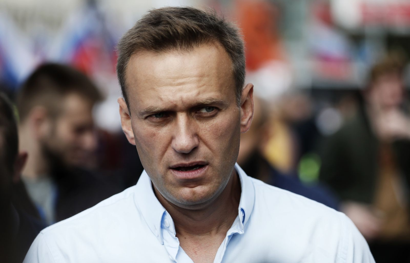 German government says 'unequivocal proof' found for Navalny pisoning, Moscow, Russian Federation - 20 Jul 2019
