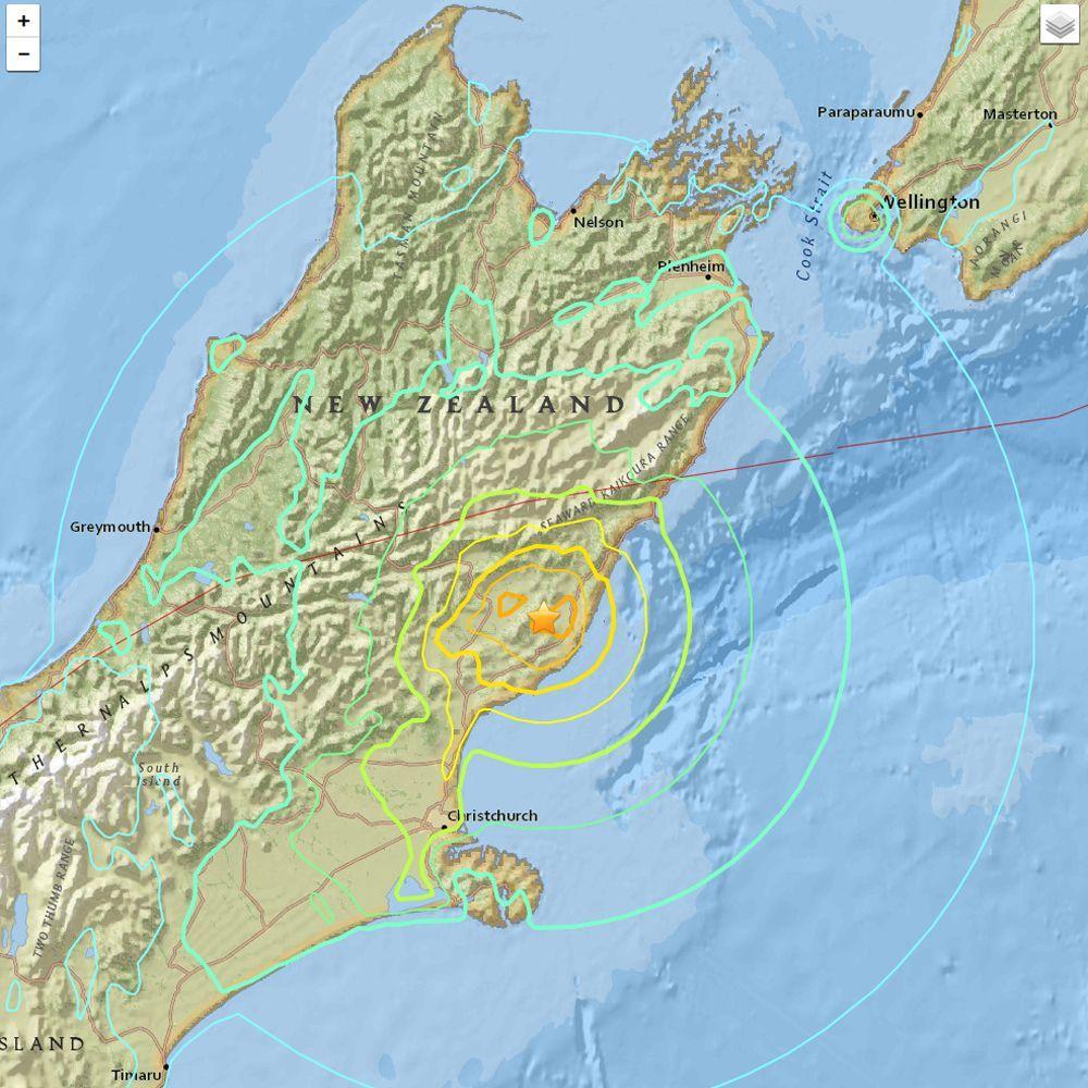 Neuseeland Erdbeben Bei Christchurch Der Spiegel