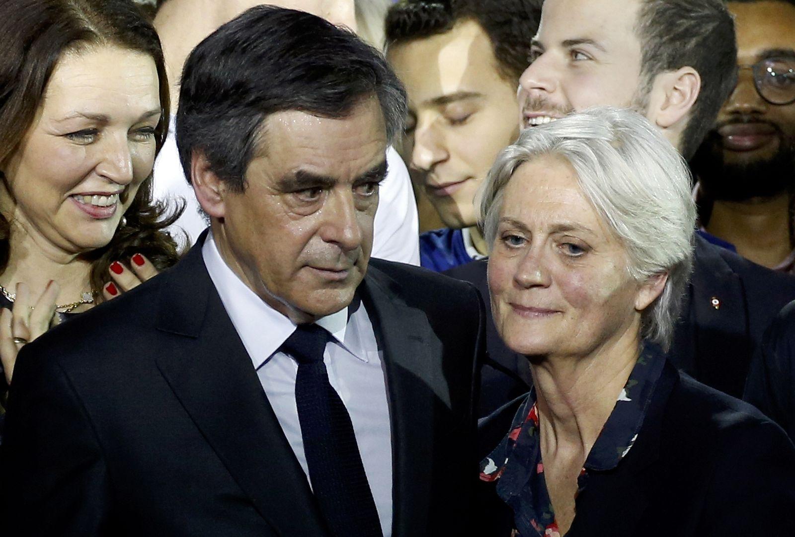 Francois Fillon & Penelope