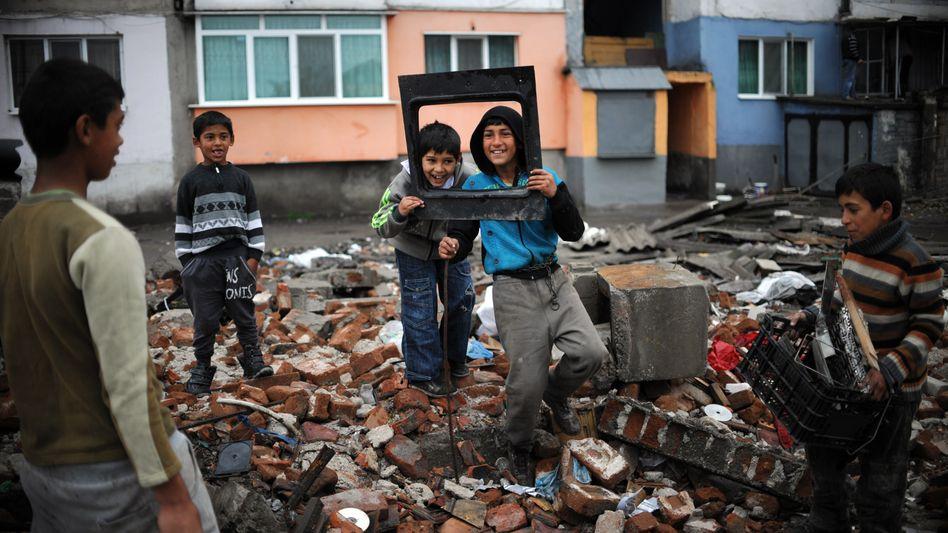 Roma-Kinder in Bulgarien