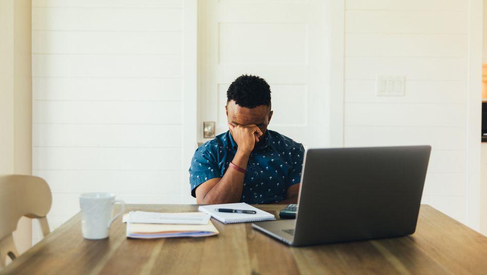 Onlinemeeting: Wenig Information, die das Gehirn unbewusst braucht