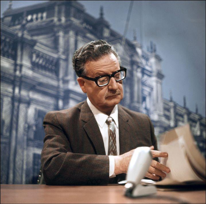 Der chilenische Präsident Salvador Allende