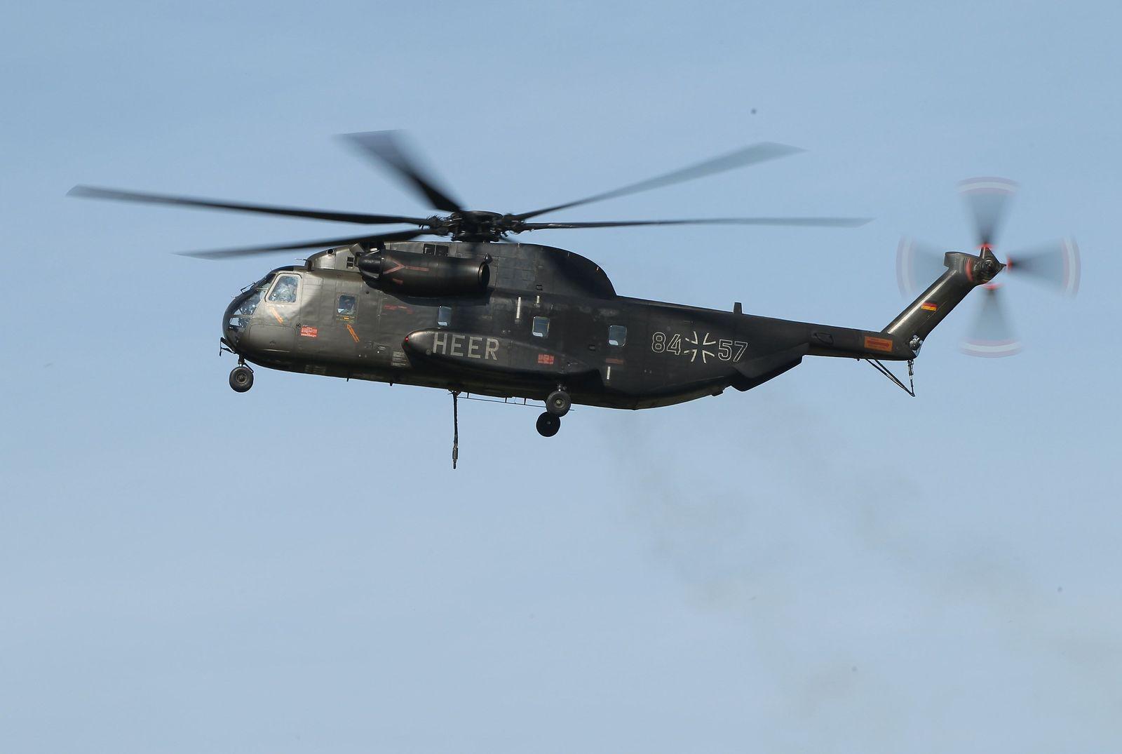 Bundeswehr/ Transportmittel/ Hubschrauber CH-53