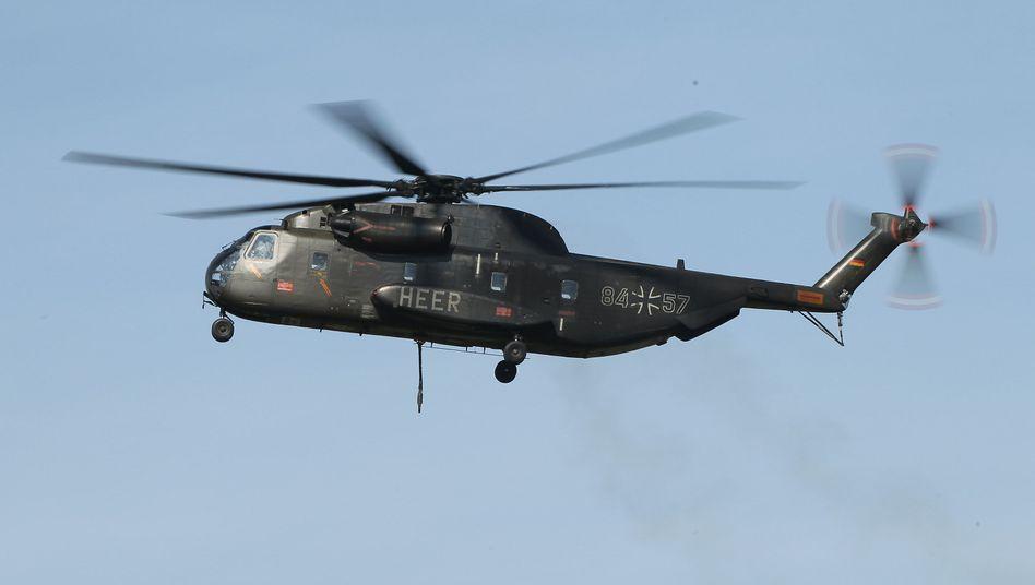 CH-53-Helikopter der Bundeswehr (im September 2011)