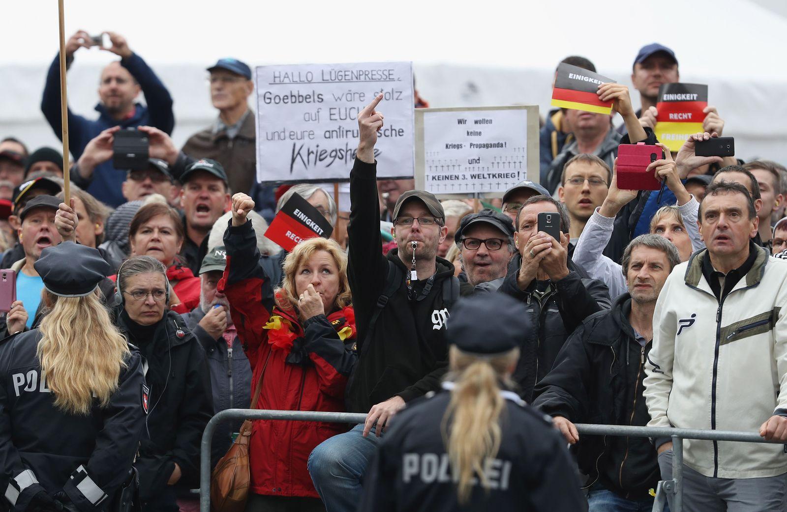 Jahresrückblick 2016/ Sachsen/ Dresden/ Wutbürger