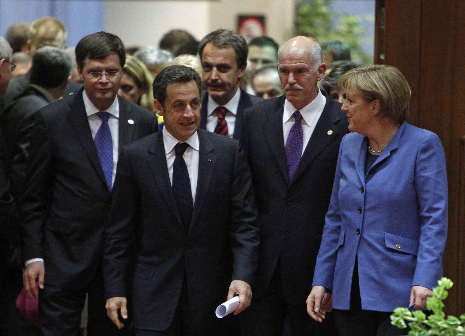 Merkel / Sarkozy / Zapatero