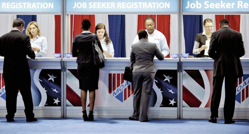 Arbeitsuchende in Washington
