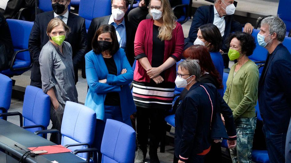 Parlamentarierinnen (und Parlamentarier) der Grünen im Bundestag