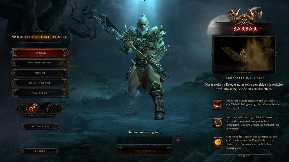 Diablo III: Muss nur noch kurz die Welt retten