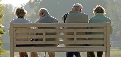 Rentner im Jahr 2009: Eine der wichtigsten Wählergruppen der Union