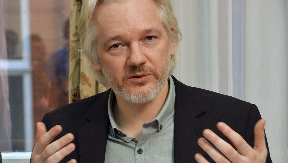 Julian Assange (Archivbild): Mal wieder für Schlagzeilen gesorgt