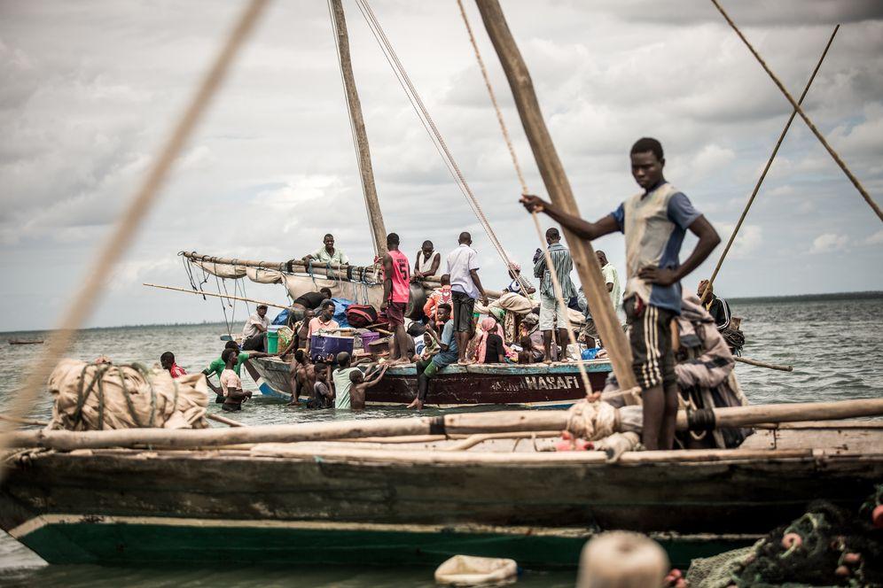 Fishermen in the Ibo District