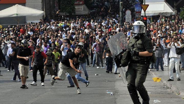 Fotostrecke: Streik paralysiert Griechenland