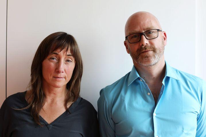 Christina Pohl und Olaf Heuser