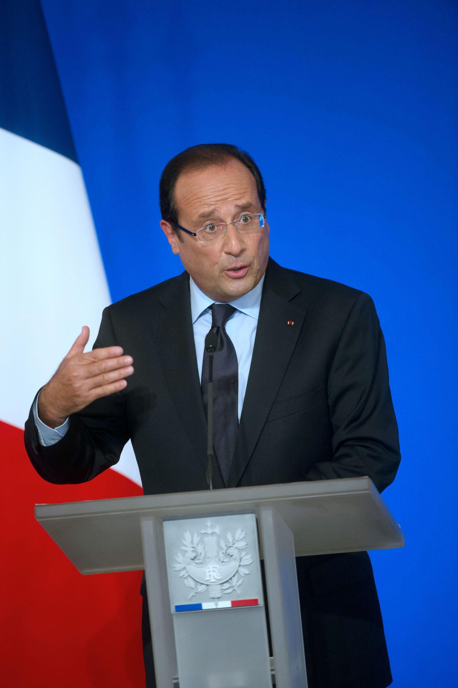 Frankreich Hollande