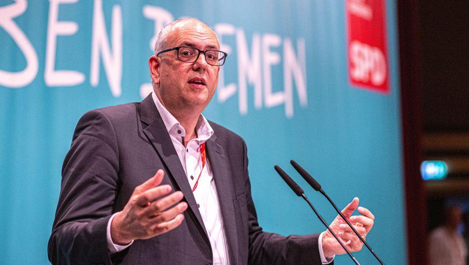 """Andreas Bovenschulte (SPD): """"Wenn andere sich das zum Vorbild nehmen, dann soll mir das recht sein"""""""