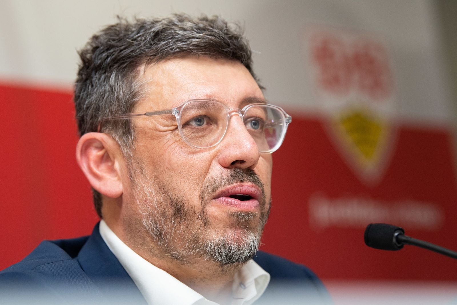 VfB-Präsident Claus Vogt
