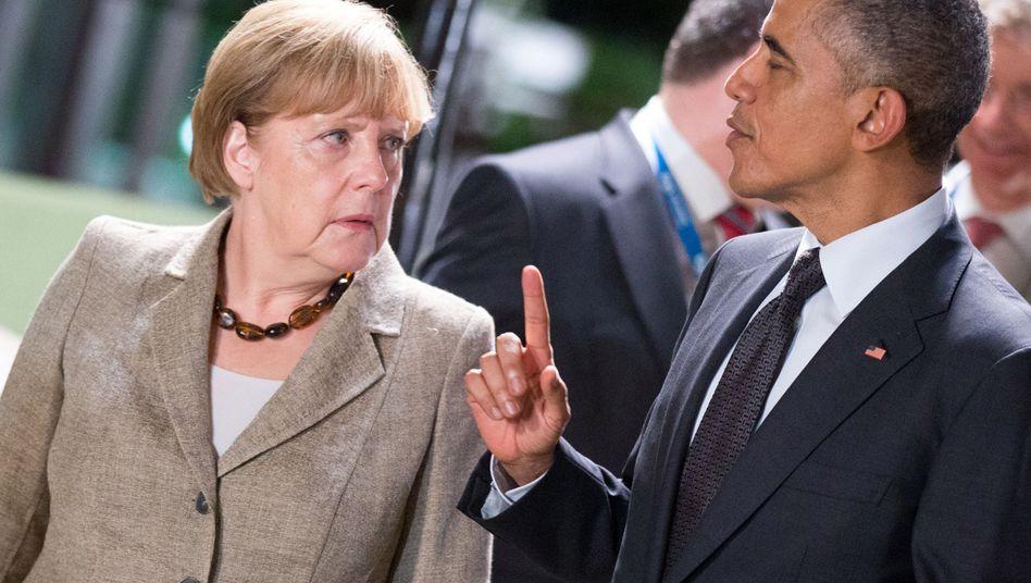 Merkel und Obama (Aufnahme vom November 2014): Diskussion über den Schuldenschnitt