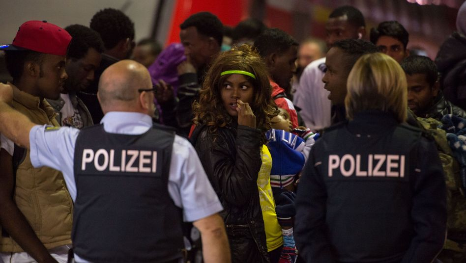 Another 1,000 refugees are expected to reach Munich on Wednesday.