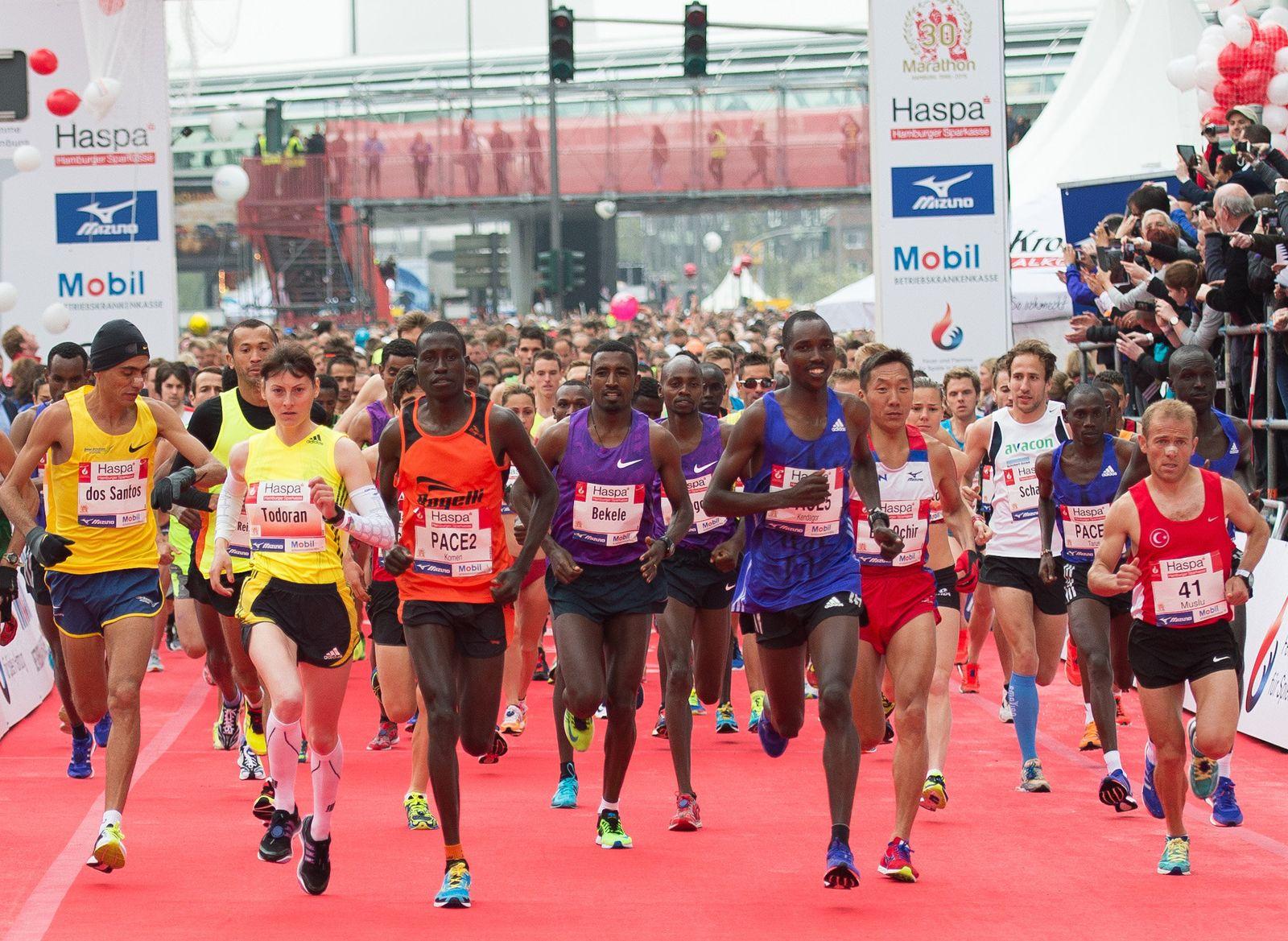 Marathon Leichtathletik