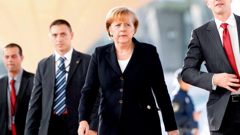 """Bundeskanzlerin Merkel in Lissabon: """"Reale Gefährdung"""""""