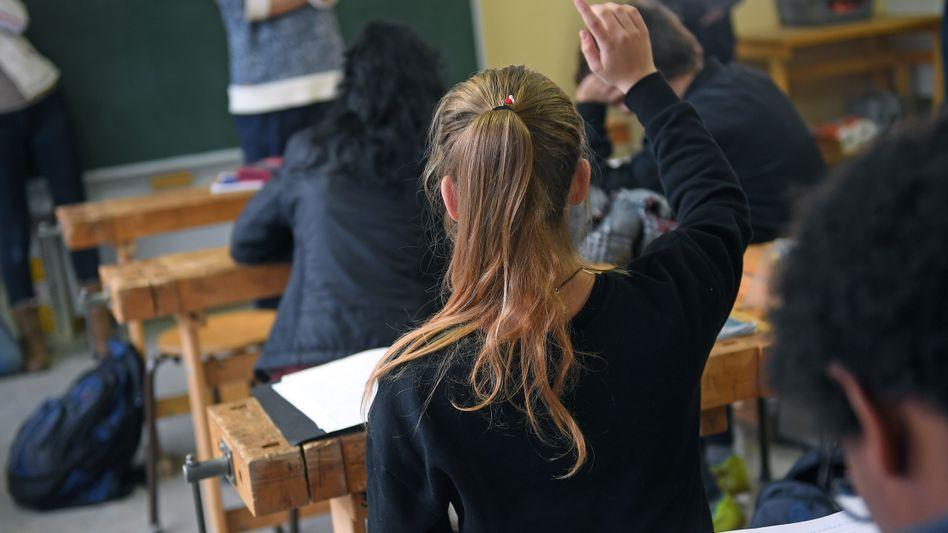 Schüler einer Sekundarschule (Archivbild)