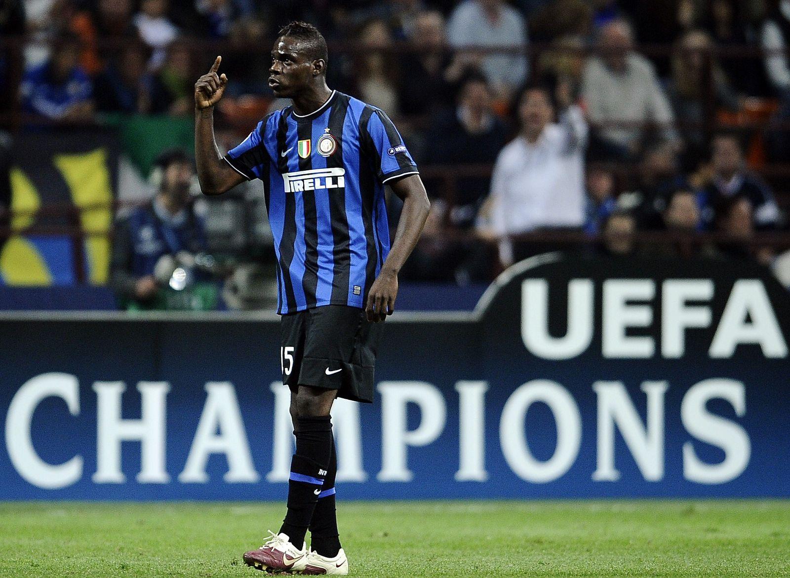 Balotelli Inter Mailand