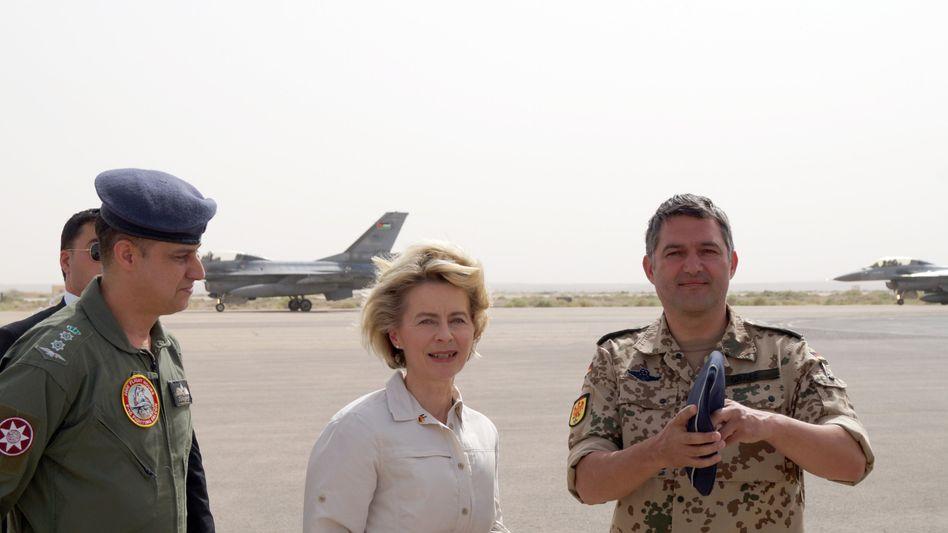 Verteidigungsministerin von der Leyen in Jordanien